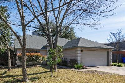Cedar Park Single Family Home For Sale: 306 Oakcrest Dr