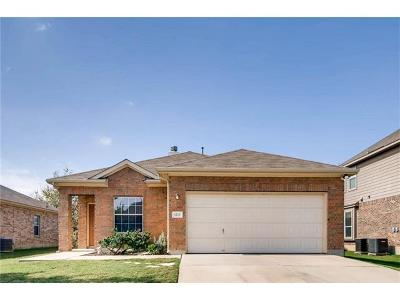 Kyle Single Family Home For Sale: 1212 Cherrywood