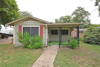 Travis County, Williamson County Single Family Home For Sale: 2205 Coleto St