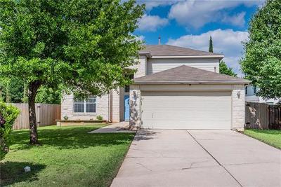 Cedar Park Single Family Home For Sale: 1401 Hawk Dr