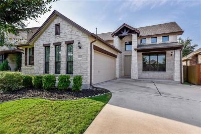 Austin Single Family Home Pending - Taking Backups: 15825 Pearson Brothers Dr