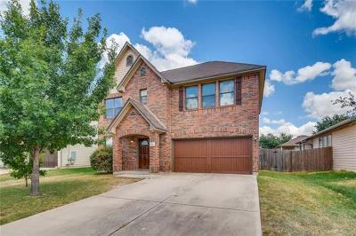 Round Rock Single Family Home For Sale: 1741 Bayland St