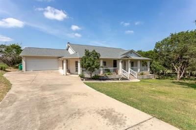 Lago Vista Single Family Home For Sale: 20813 Twisting Trl
