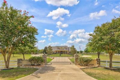 Cedar Creek TX Single Family Home For Sale: $825,000