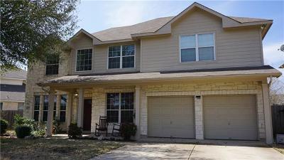 Cedar Park Single Family Home Pending - Taking Backups: 1205 Heppner Dr