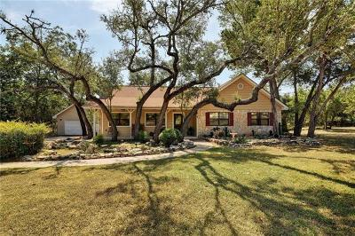 Wimberley Single Family Home Pending - Taking Backups: 87 Augusta Dr