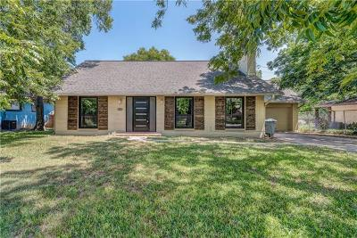 Austin Single Family Home Pending - Taking Backups: 7307 Bucknell Dr