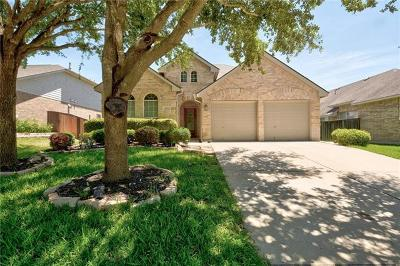 Round Rock  Single Family Home For Sale: 4212 Parkvista Trl