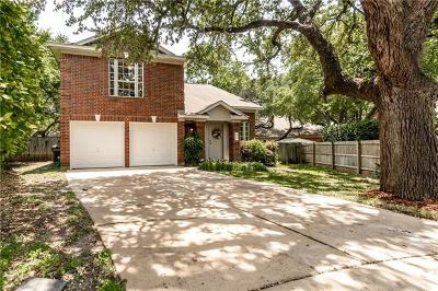 Round Rock Single Family Home For Sale: 4005 Rose May Cv