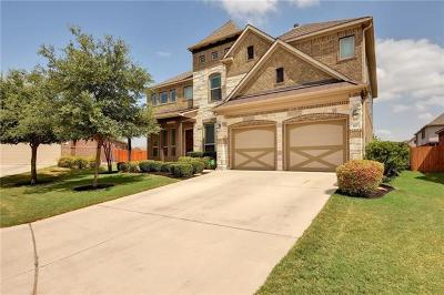 Hutto Single Family Home For Sale: 110 N Pasture Cv