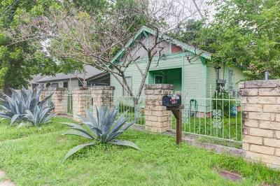 Austin Single Family Home Pending - Taking Backups: 1904 Garden St #A