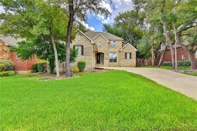 Round Rock Single Family Home For Sale: 2745 Lake Forest Dr