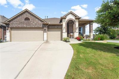 Cedar Park Single Family Home Pending - Taking Backups: 2401 Emily Cv