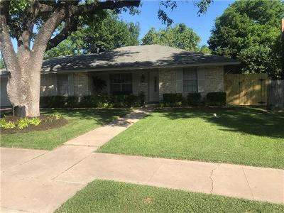 Travis County Single Family Home Pending - Taking Backups: 9807 Parkfield Dr