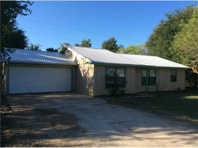 Bastrop TX Single Family Home For Sale: $159,900