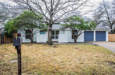 Austin Single Family Home For Sale: 5433 Fairmont Cir