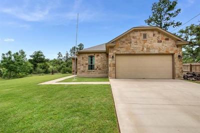 Bastrop Single Family Home Active Contingent: 111 Peahi Ct