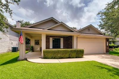 Cedar Park Single Family Home For Sale: 2004 Killians Way