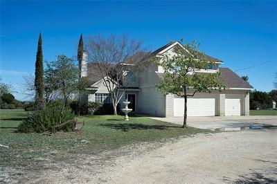 Williamson County Single Family Home For Sale: 1800 County Road 156