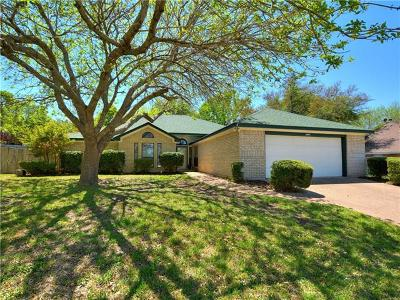Harker Heights Single Family Home For Sale: 1604 Man O War