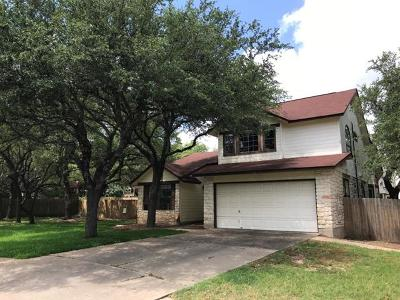 Cedar Park Single Family Home Pending - Taking Backups: 1706 Tierra Blanco Cv