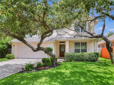 Round Rock Single Family Home For Sale: 3830 Pine Needle Ln