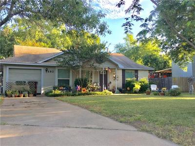 Round Rock Single Family Home For Sale: 502 Edwards Dr
