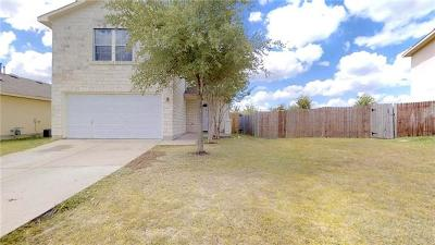 Del Valle Single Family Home For Sale: 11805 Chambers Peak Cv