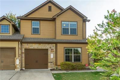 Austin Condo/Townhouse For Sale: 11417 Lost Maples Trl