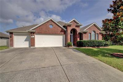 Pflugerville Single Family Home For Sale: 18712 Caisteal Castle Path