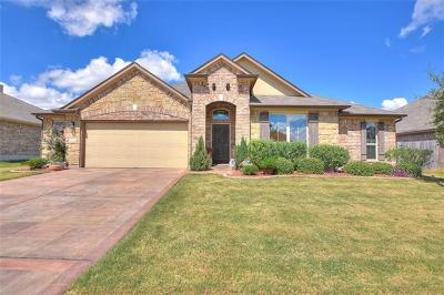 Round Rock Single Family Home For Sale: 20008 Needle Pine Dr