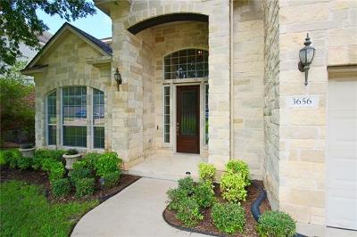 Round Rock Single Family Home For Sale: 3656 Cerulean Way