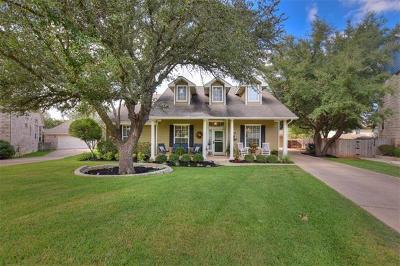 Georgetown Single Family Home Pending - Taking Backups: 125 Village Gln
