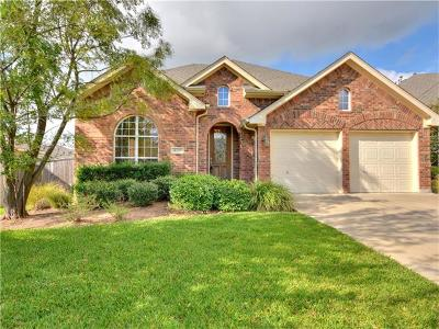 Round Rock Single Family Home For Sale: 4209 Windberry Ct