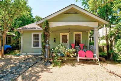 Austin Single Family Home Pending - Taking Backups: 1609 Waterston Ave