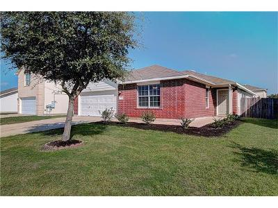 Hutto Single Family Home For Sale: 114 Wegstrom St