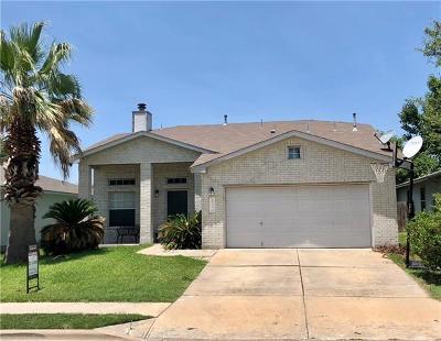 Pflugerville Single Family Home For Sale: 17412 Dashwood Creek Dr