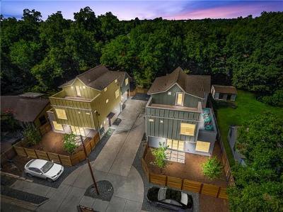 Austin Single Family Home For Sale: 3012 Prado St #1