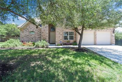 Leander Single Family Home Pending: 2404 Aspen Meadow Rd