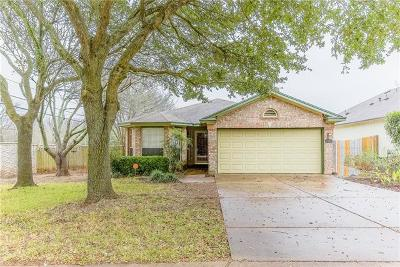 Travis County Single Family Home Pending - Taking Backups: 2801 Feathercrest Dr