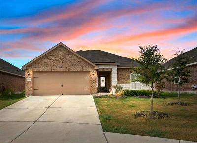 Manor Single Family Home For Sale: 13200 Clara Martin Road