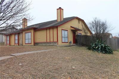 Pflugerville Multi Family Home Pending - Taking Backups: 16203 & 16205 Edgemere