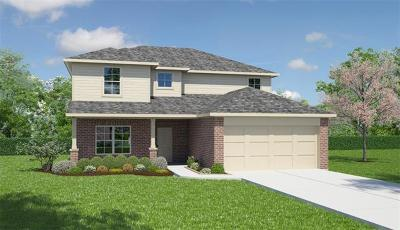 Manor Single Family Home For Sale: 18117 Ryegate Dr