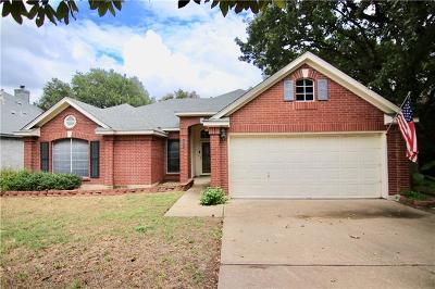 Round Rock Single Family Home For Sale: 2111 Mockingbird Dr