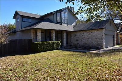 Austin Single Family Home For Sale: 12617 Dove Valley Trl