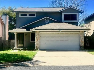 Austin Single Family Home For Sale: 7613 Grovedale Trl