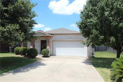 Hutto Single Family Home For Sale: 211 Legends Of Hutto Trl