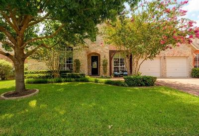 Round Rock Single Family Home For Sale: 3251 Sanibel Ct