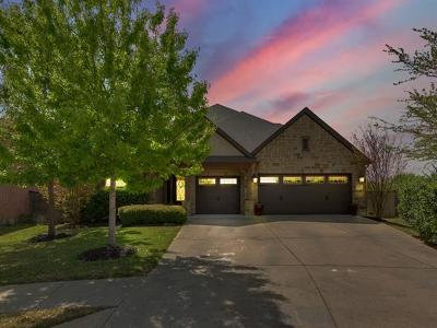 Round Rock Single Family Home Pending - Taking Backups: 1587 Courmayeur Ct