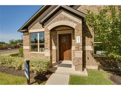 Round Rock Condo/Townhouse For Sale: 7220 Wyoming Springs #101